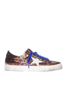 """Golden Goose Deluxe Brand - """"May"""" animal printed sneakers"""