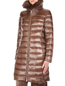 Herno - Brown quilted jacket