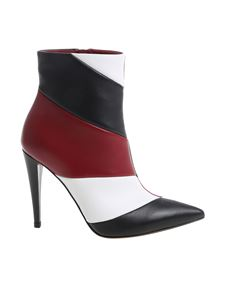 "Gianvito Rossi - ""Hadley"" colorblock ankle boots"