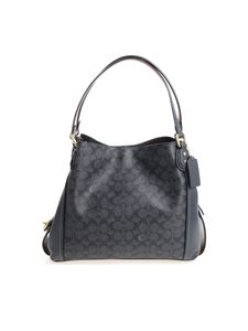 Coach - Gray and blue shoulder bag