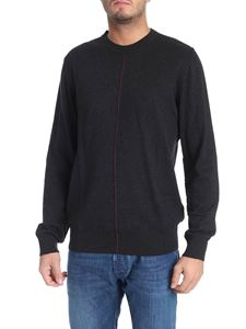 PS by Paul Smith - Dark grey pullover with veins