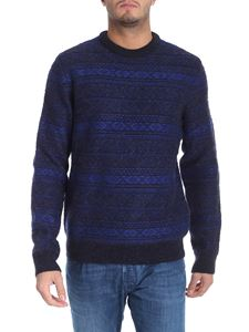 PS by Paul Smith - Blue tricot pullover