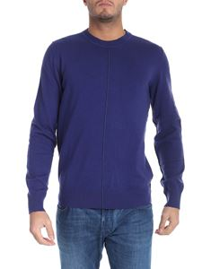 PS by Paul Smith - Blue pullover with veins