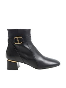 Tod's - Black calf leather ankle boots