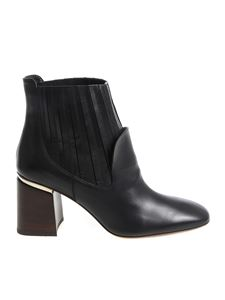Tod's - Black ankle boots with heel