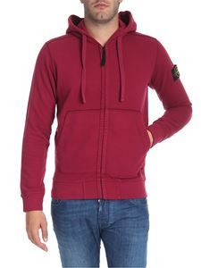 Stone Island - Cylamin color hooded sweatshirt