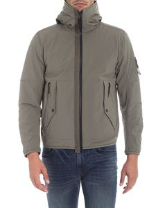 "Stone Island - Grey ""Soft Shell-R"" jacket"