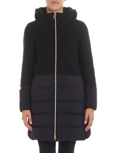 Herno - Black wool coat