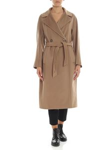 "Max Mara Weekend - Cappotto doppiopetto ""Katai"" color cammello"