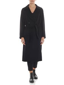 "Max Mara Weekend - Cappotto doppiopetto ""Katai"" nero"