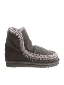 "Mou - ""Eskimo 18"" anthracite ankle boots"