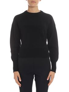 Theory - Black crew-neck pullover