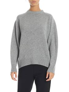 Theory - Grey crew neck pullover