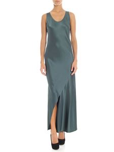 Theory - Green sleeveless long dress
