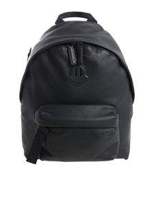 "Moncler - ""Pelmo"" black backpack"