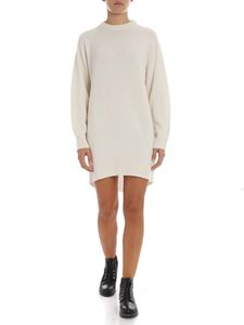 Theory - Cream-colored cashmere crew-neck dress