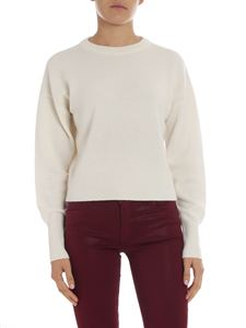 Theory - Cream colored crewneck pullover