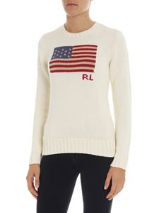 POLO Ralph Lauren - Cream-colored pullover with embroidery