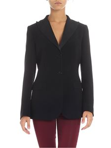 Alberto Biani  - Black two buttons jacket