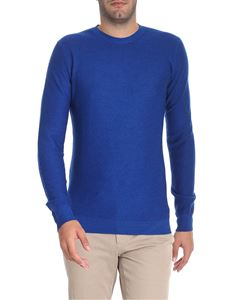 Paolo Pecora - Blue wool pullover