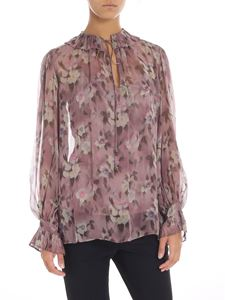 POLO Ralph Lauren - Blusa rosa stampa floreale