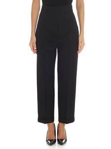 Jacquemus - Black crop trousers
