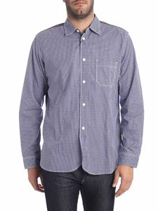 Junya Watanabe - Blue and white checked shirt