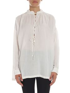 Iro - Cream-colored modal blouse