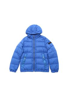 "Peuterey - Electric blue ""Zoran"" down jacket"