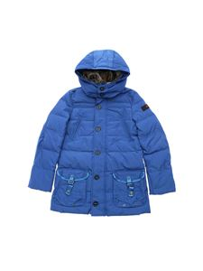 "Peuterey - Electric blue ""Mercer"" down jacket"