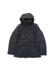 "Peuterey - Dark blue ""Hurricane"" down jacket"