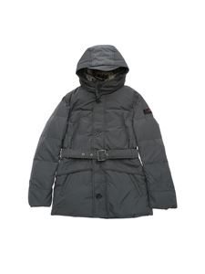 "Peuterey - Dark grey ""Hurricane"" down jacket"