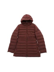 "Peuterey - ""Nigra 01"" burgundy long down jacket"
