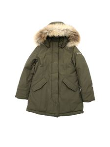 "Woolrich - ""Arctic Parka"" army green down jacket"