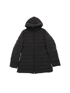 "Peuterey - ""Nigra 01"" black long down jacket"