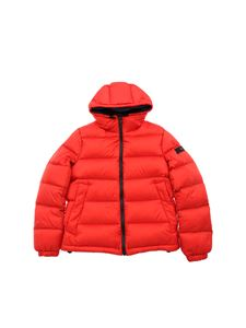 "Peuterey - ""Mor"" red down jacket"