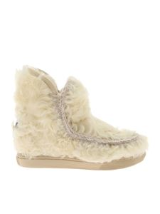 "Mou - Stivaletto bianco ""Inner Wedge Sneaker"""