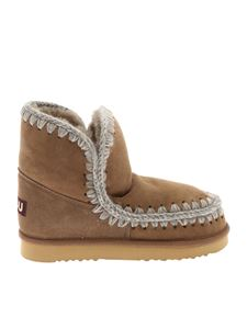"Mou - ""Eskimo 18"" brown ankle boots"