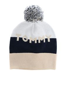 Tommy Hilfiger - Colorblock beanie with logo