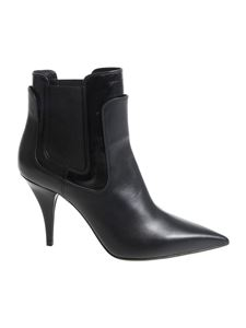 Casadei - Black pointy ankle boots
