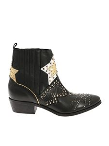 "Strategia - ""Roxana"" black ankle boots"