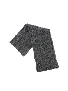 Woolrich - Gray tricot effect scarf