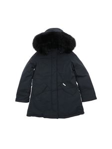 "Woolrich - ""Luxury Arcitc Parka"" blue down jacket"