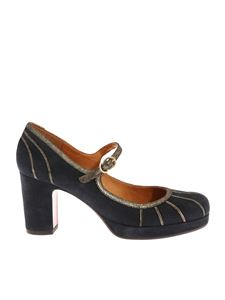 "Chie Mihara - ""Anist"" navy blue shoes"
