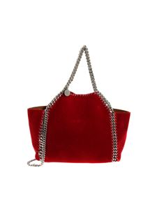 "Stella McCartney - ""Falabella Mini Tote reversible"" red bag"