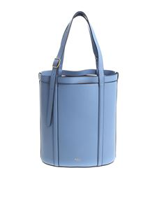"Mulberry - Small blue ""Wiltone"" tote bag"