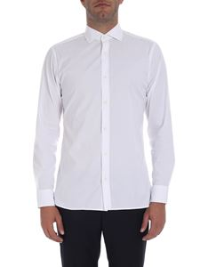 Z Zegna - White slim-fit shirt