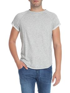 Balmain - Raglan sleeves grey t-shirt