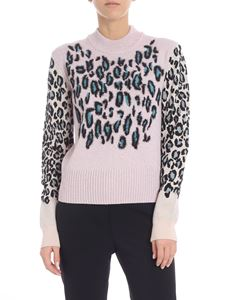 "Kenzo - ""Leopard"" lilac pullover"