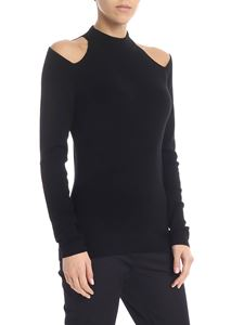 Michael Kors - Black pullover with cut-out